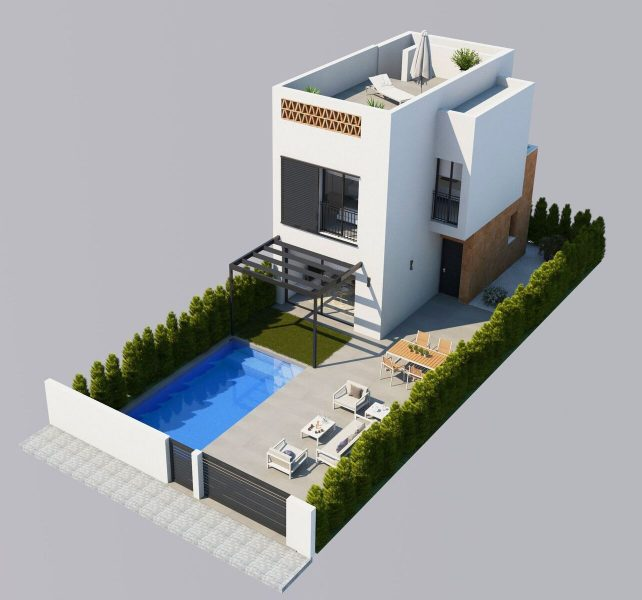 Detached New Build Villa