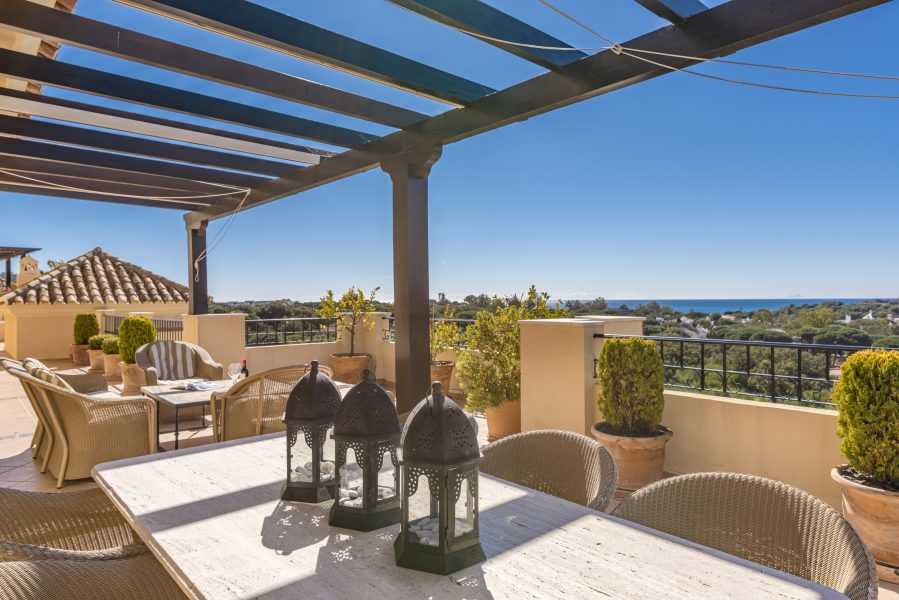 The best penthouse in Elviria!