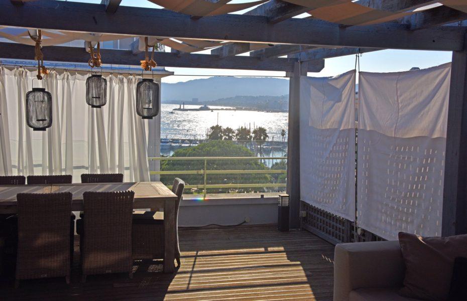 Fantastiskt penthouse - Cannes Palm Beach