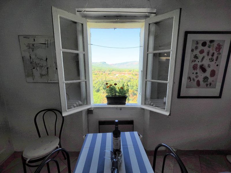Mysig lägenhet med vacker utsikt