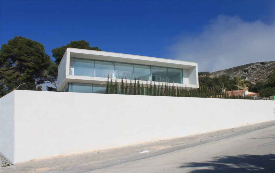 villas in Moraira for sale Sea view