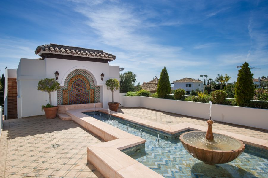 Marbella, Sierra Blanca : Luxury 9 bed Villa, Golden Mile.
