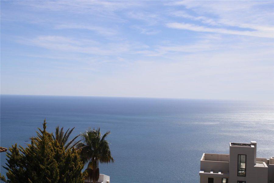 Altea: New build Sea view villa