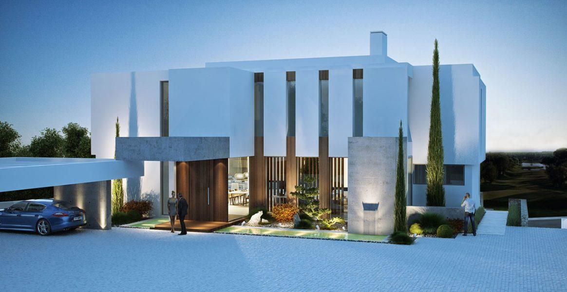 Marbella: Ultra-modern 6 bed, Villa off plan by Golf