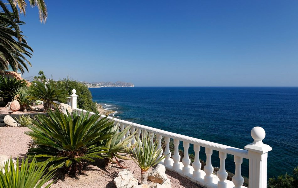 seav view villa for sale in Moraira spain