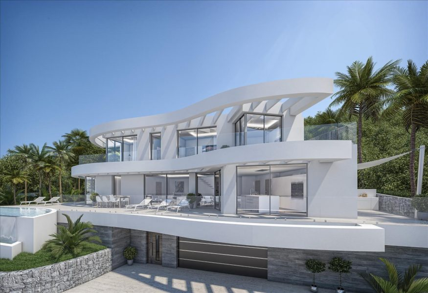 Luxury villas for sale in Javea Spain
