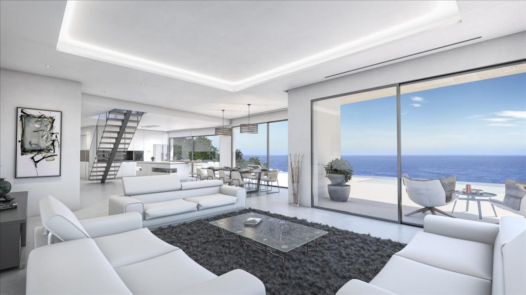 Jávea: Sea view luxury villa
