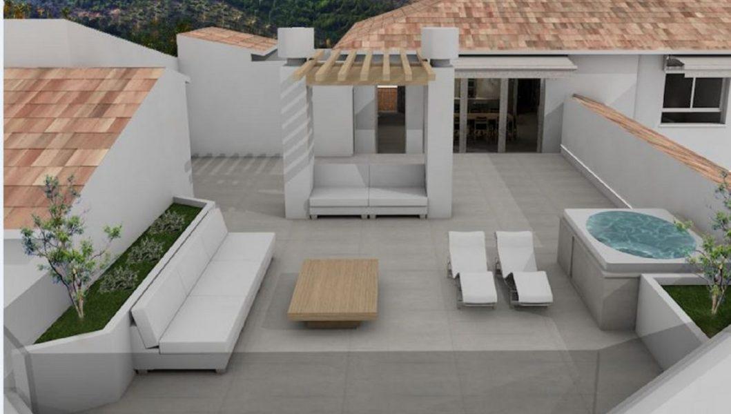 Penthouse for sale in Altea