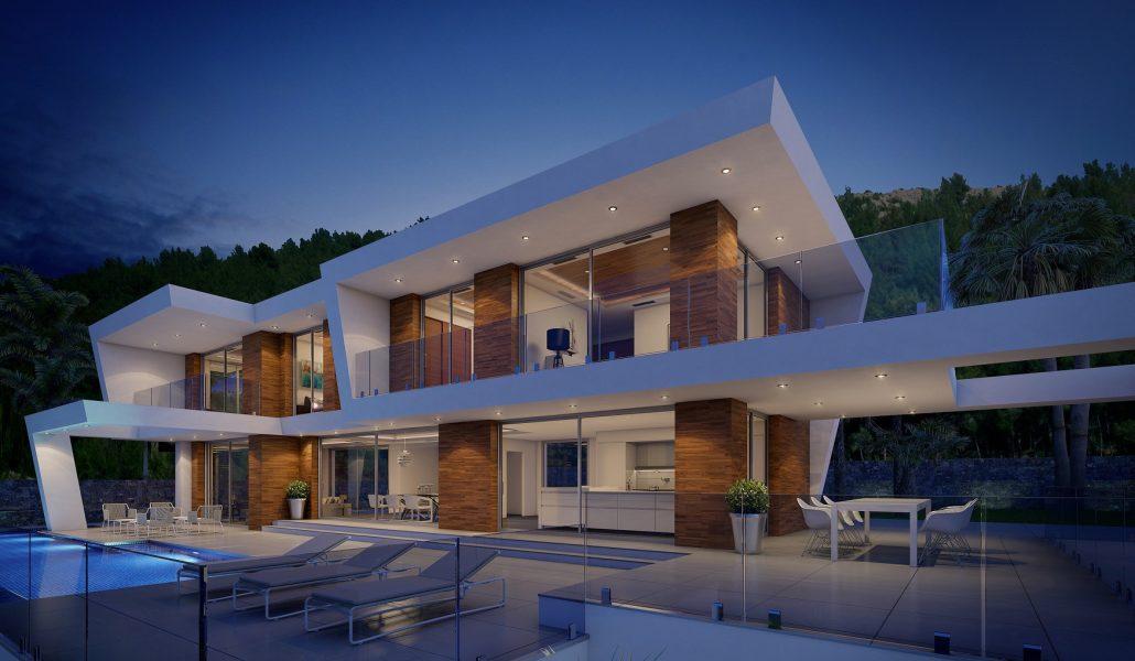 sea view villas for sale Javea spain