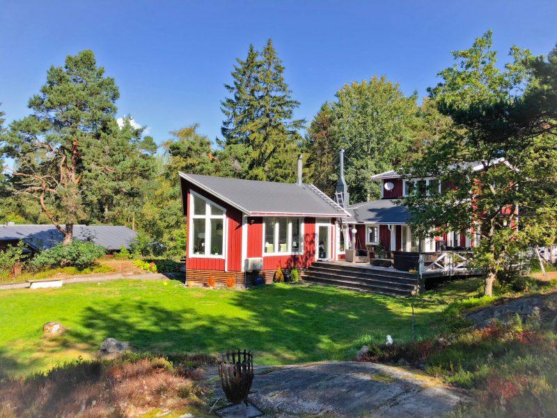 Lantlig skärgårdsidyll på Ingarö