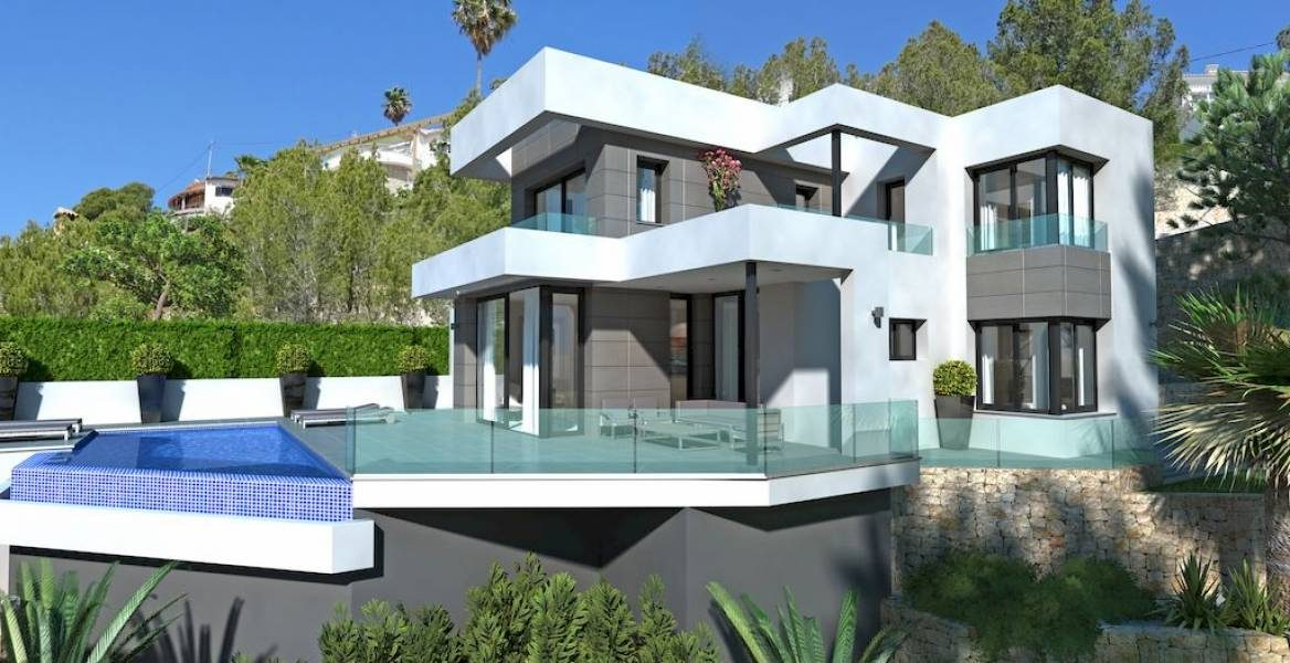 Villa in Moraira for sale sea view