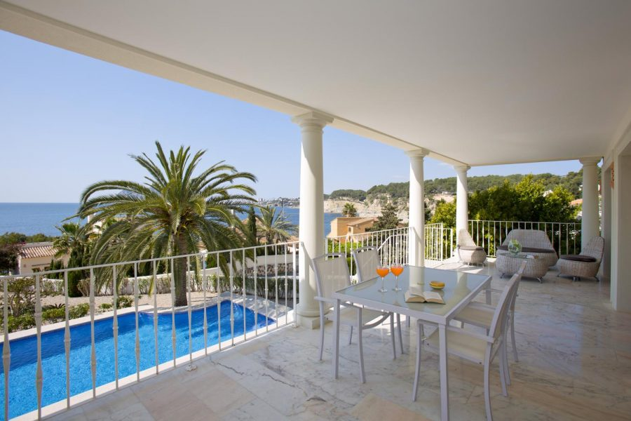 beach villa for sale in Moraira