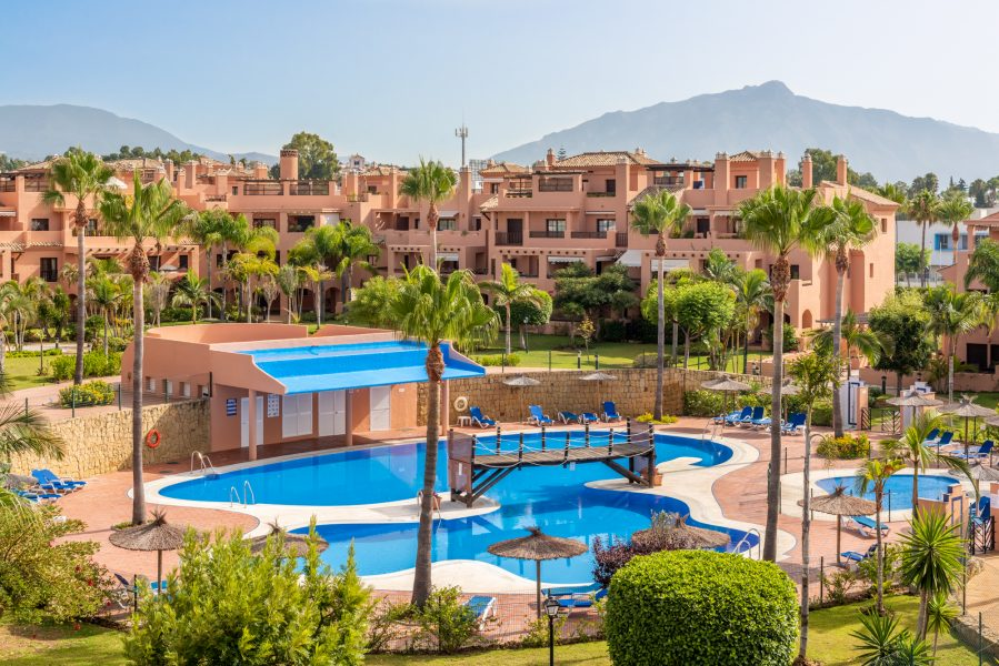 Wonderful penthouse 100 meters from the beach!