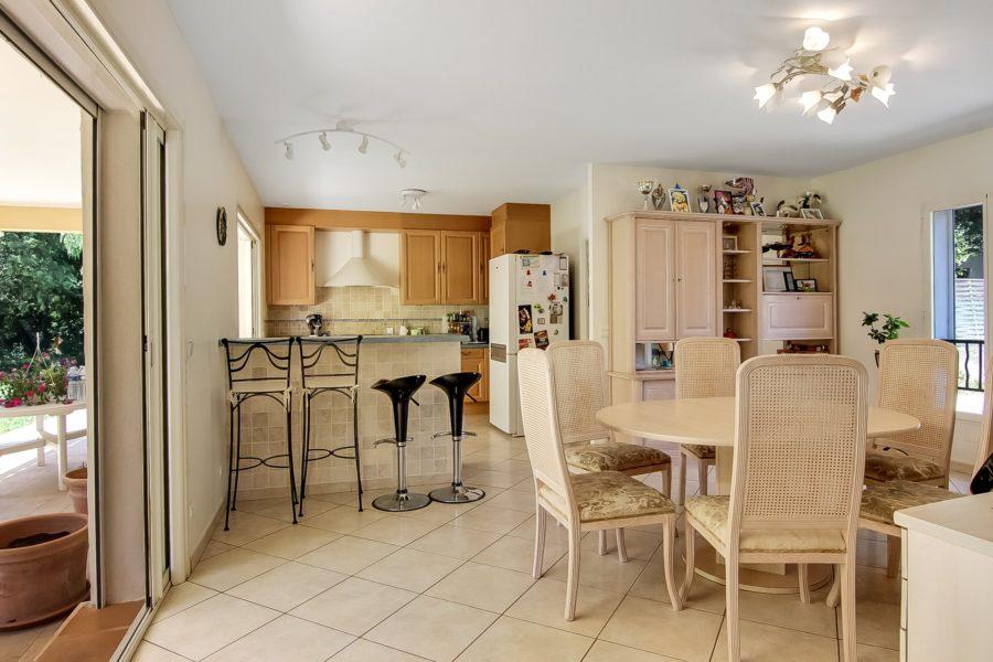Belle villa de 158 m2 à Roquefort-les-pins
