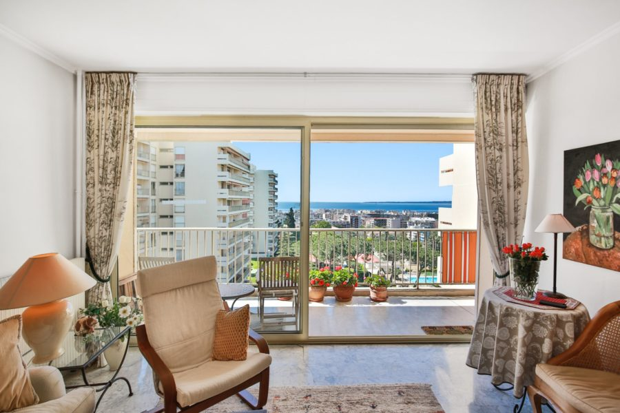Bel appartement 3-pièces avec vue mer!