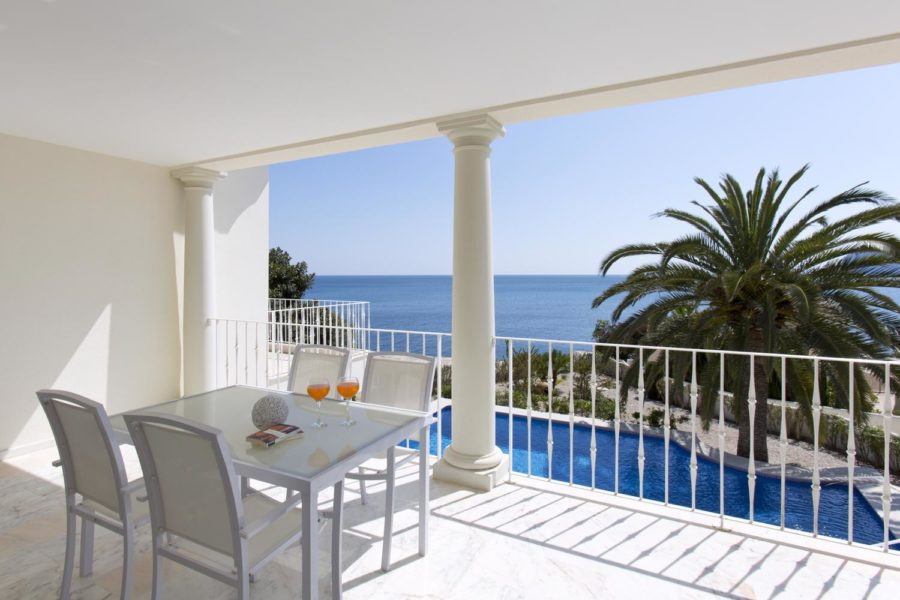 luxury sea view villa for sale in Moraira