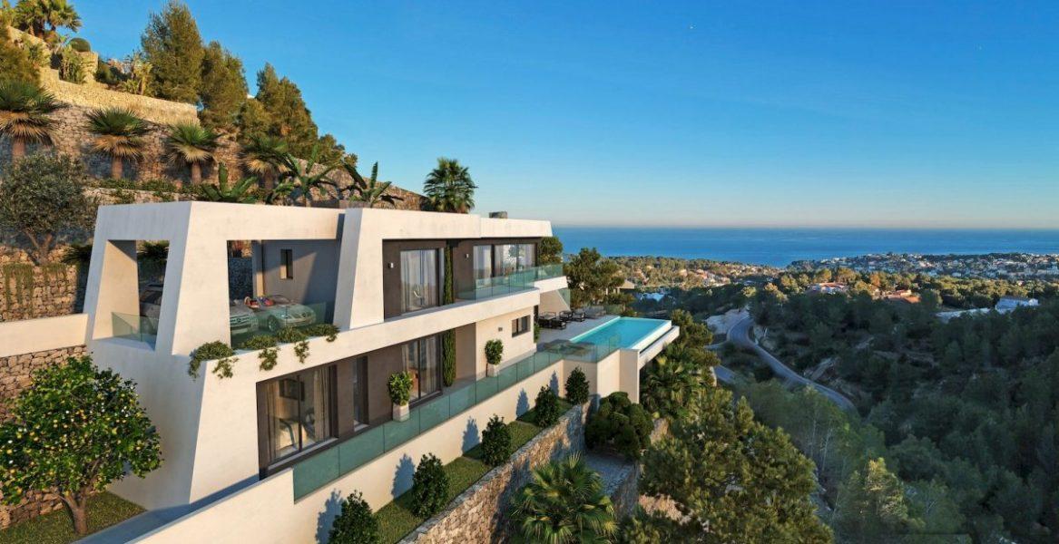 Luxury villas in Calpe for sale