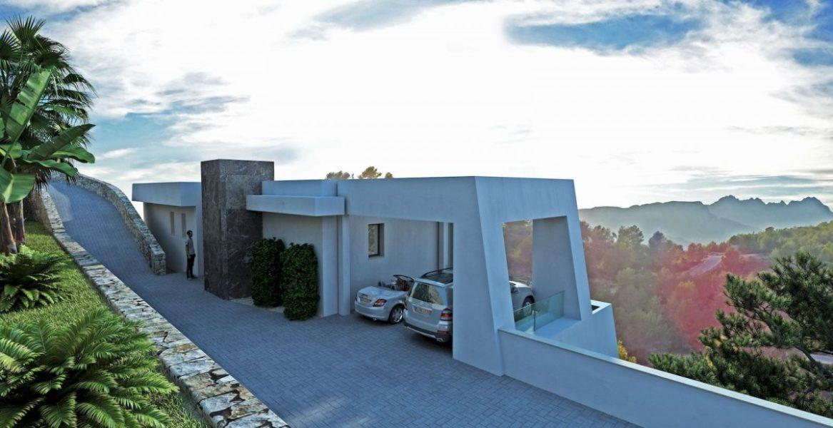 Calpe: Luxury Sea view  4 bed 6 bath villa