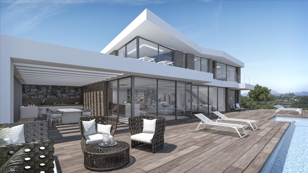 Luxury new build villa for sale in Spain