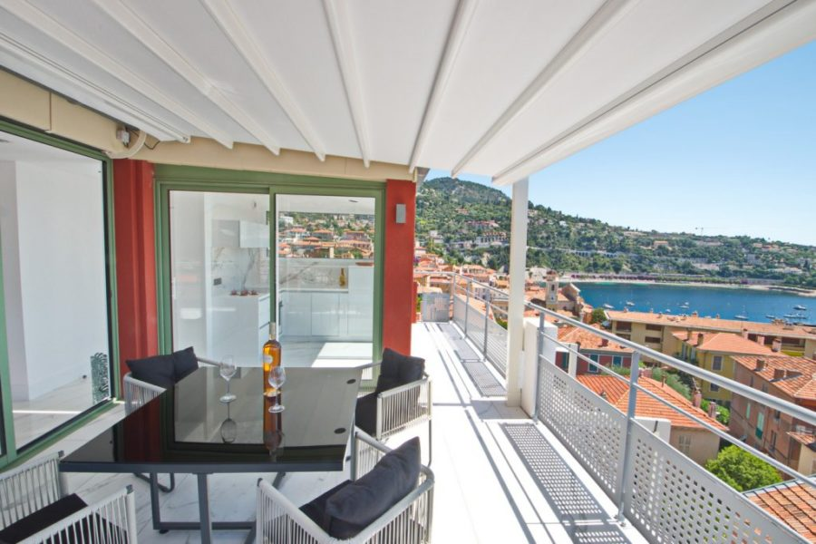 Takvåning med panoramautsikt - Villefranche-Sur-Mer