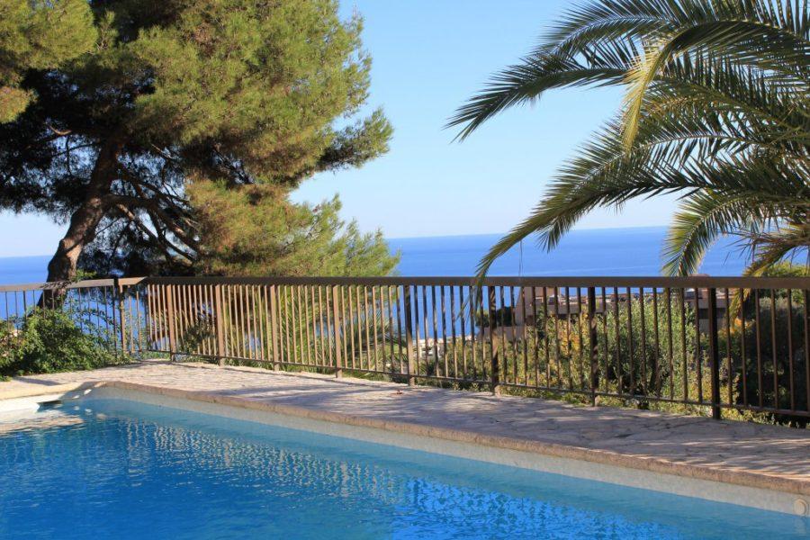 3:a med stor terrass och havsutsikt - Nice Lanterne