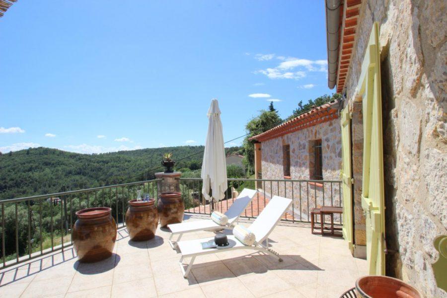 Provençalsk villa med utsikt - Callian