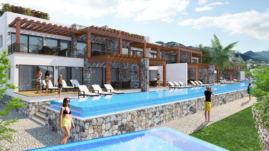 Sverige Medelhavet Sales one room apartment in Northern Cyprus