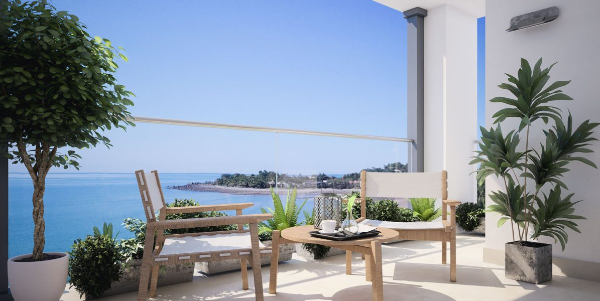 NEW BUILD LUXURIOUS APARTMENT 3 MIN FROM BEACH ESTEPONA for sale by Blue-Square