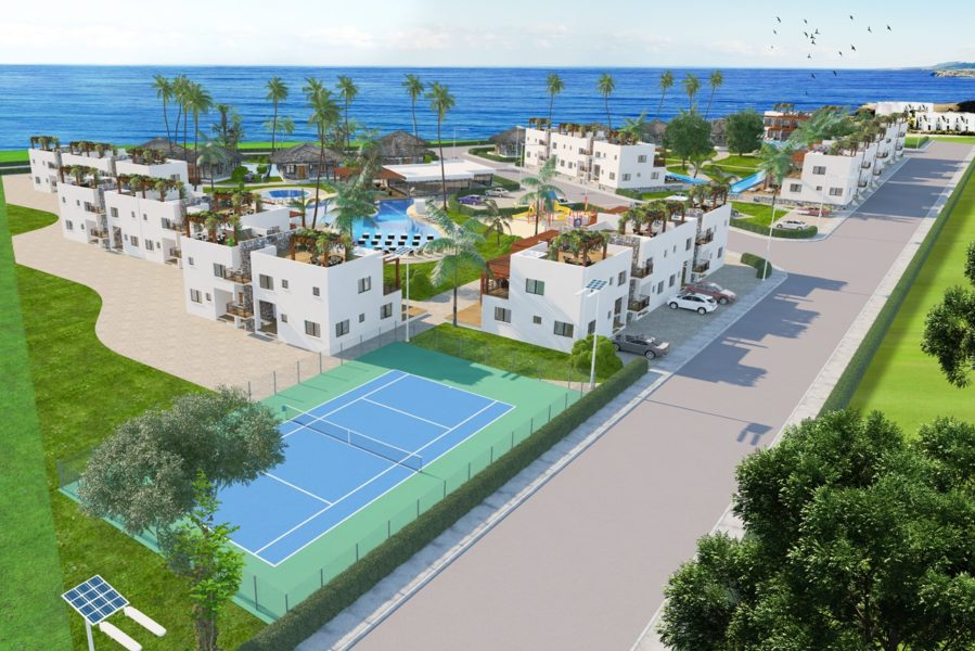 Sverige Medelhavet IPP Partner sell apartments at seaside resort in Northern Cyprus
