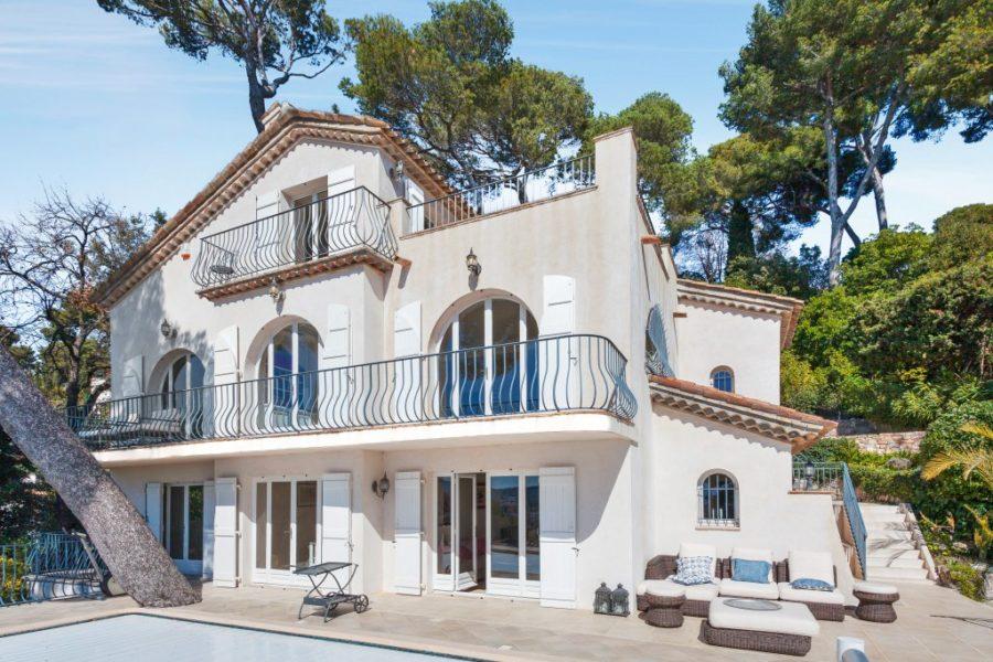 Modern villa med havsutsikt - Cannes Californie