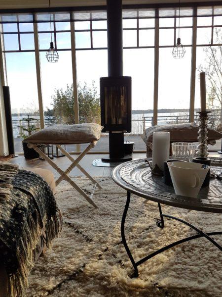 Lyxig skärgårdspärla med magisk havs- och hamnutsikt