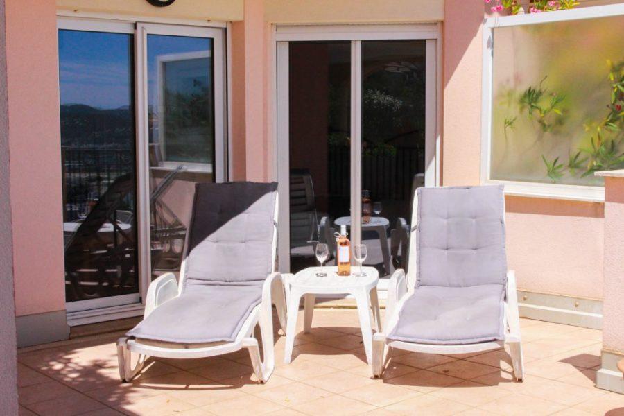 Vacker lägenhet havsutsikt - Mandelieu la Napoule