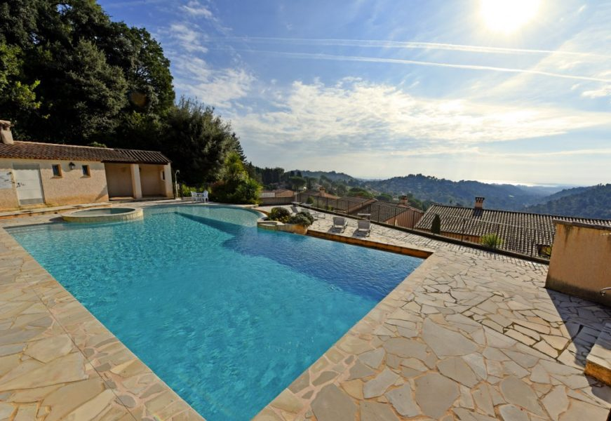 Villa med spektakulär utsikt - Vence