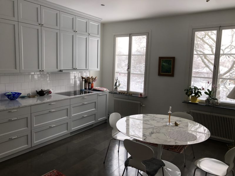 Lyxig lägenhet vid Djursholmstorg uthyres