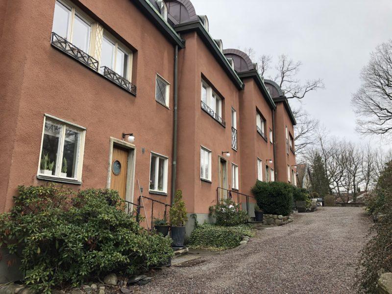 Town House med 4 våningar på Stora Essingen uthyres